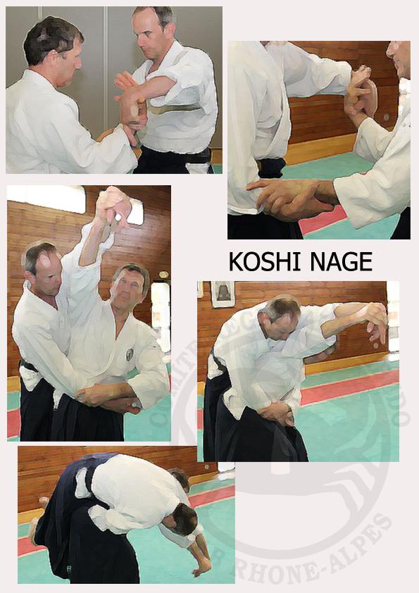 Koshi nage